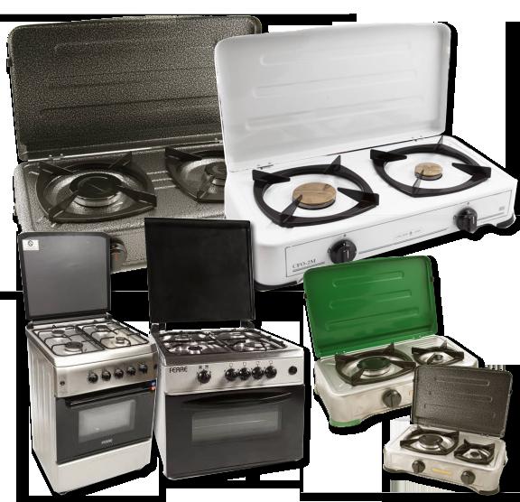Κουζινάκια οικιακά υγραερίου