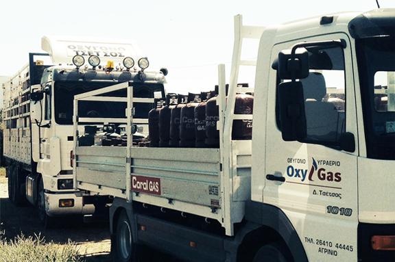 μεταφορά υγραερίου φορτηγά τσέτσος